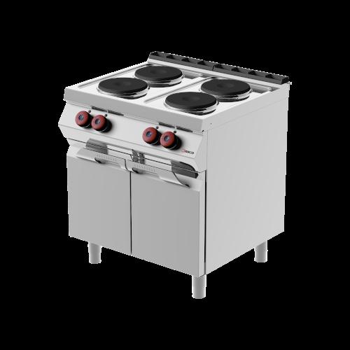 cucine elettriche con piastre in ghisa
