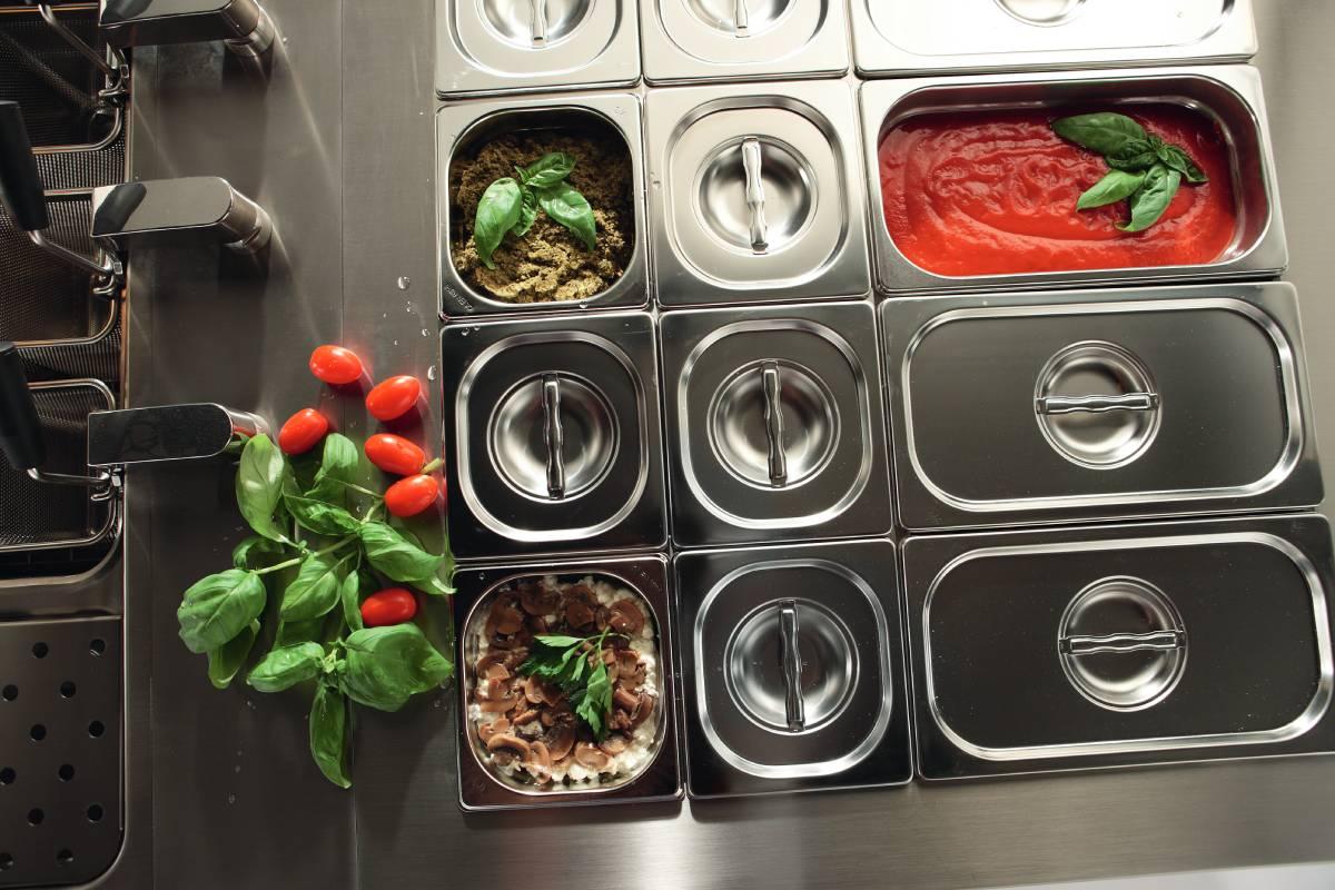 attrezzature per cucine modulari professionali
