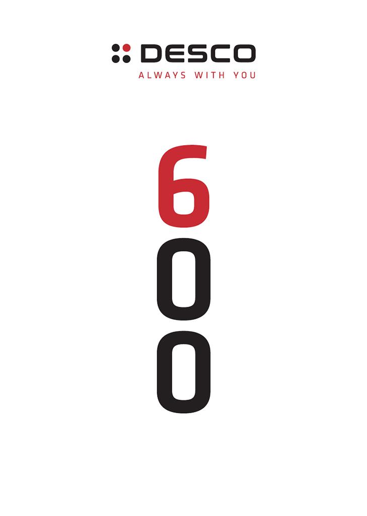 Linea cottura 600 Desco
